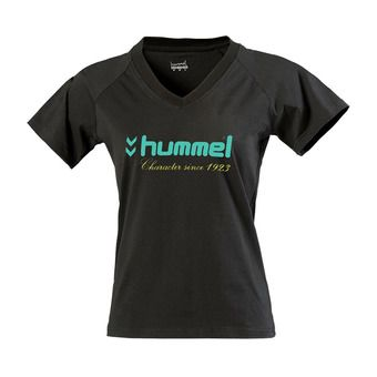 Tee-shirt MC femme UH 18 noir ceramic