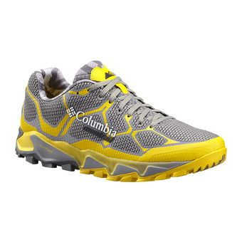 Chaussures homme TRANS ALPS F.K.T. light grey/electron yellow