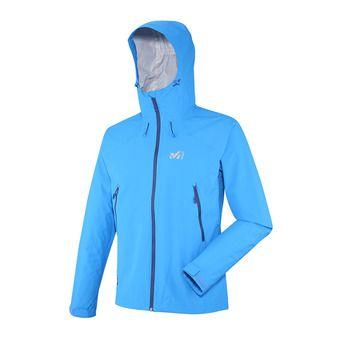 Veste à capuche homme FITZROY 2.5 electric blue