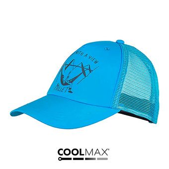 Gorra LOGO electric blue
