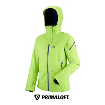 Veste à capuche femme LD WHISTLER STRETCH acid green/purple