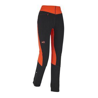 Pantalon femme PIERRA MENT orange/black