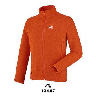 Chaqueta Polartec® hombre WILD orange