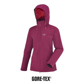 Veste à capuche Gore-Tex® femme LD MONTETS velvet red