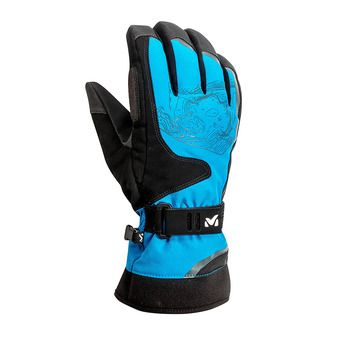 Guantes AMBER DRYEGDE electric blue
