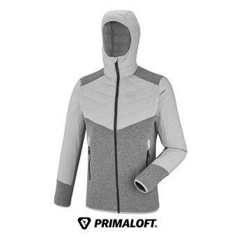 Veste à capuche Primaloft® homme DUAL ICELAND heather grey