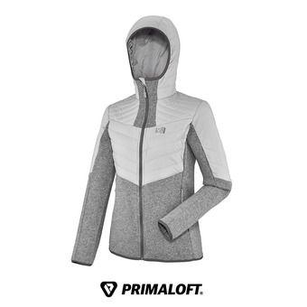 Veste à capuche Primaloft® femme DUAL ICELAND heather grey
