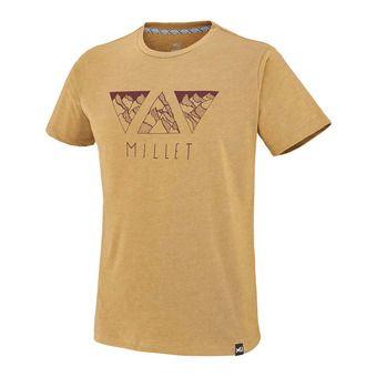 Tee-shirt MC homme TRIAN MOUNTTSSS cumin
