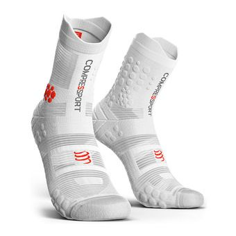 Chaussettes PRORACING V3.0 TRAIL  red/white