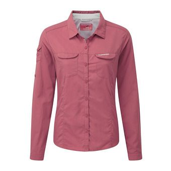 Camisa mujer ADVENTURE blossom pink