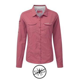 Camisa mujer ADVENTURE blossom pink