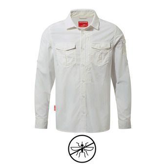 Chemise ML homme ADVENTURE optic white