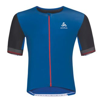 Camiseta hombre CERAMICOOL X-LIGHT energy blue/black