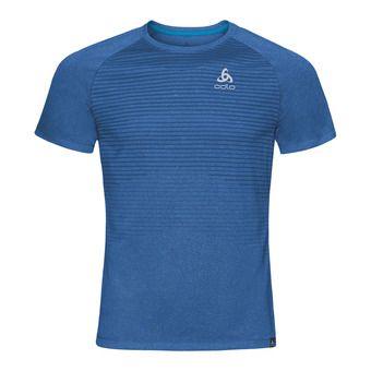 Camiseta hombre AION energy blue melange/placed print ss18