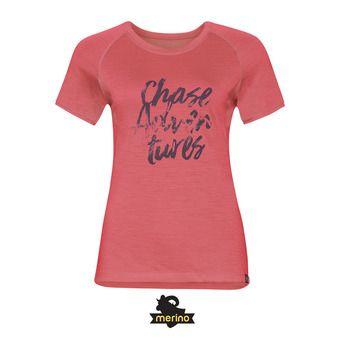 Tee-shirt MC femme KOYA CERAMI-WOOL 18 dubarry/placed print