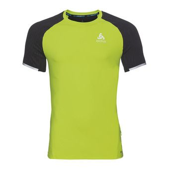 Maillot MC homme ZEROWEIGHT CERAMICOOL acid lime/black