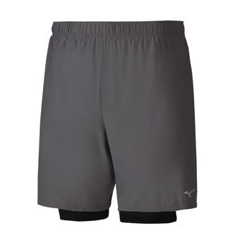 Short homme ALPHA 7.5 5 2in1 castlerock/black