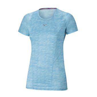 Camiseta mujer ALPHA VENT blue atoll prt