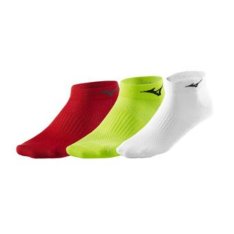 Pack de 3 pares de calcetines TRAINING MID 3 red/white/yellow