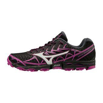Zapatillas de trail mujer WAVE HAYATE 4 black/silver/clover