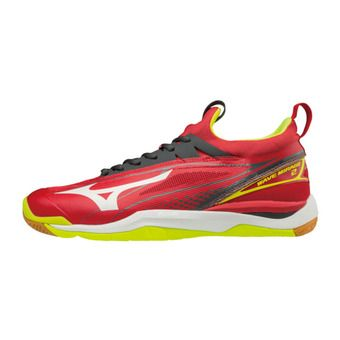 Chaussures de handball homme WAVE MIRAGE 2 red/white/yellow