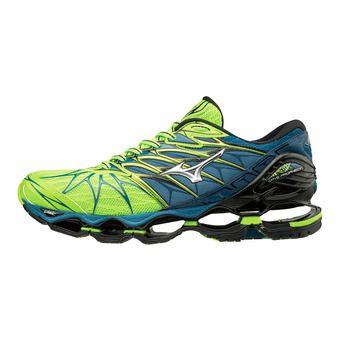 Zapatillas de running hombre WAVE PROPHECY 7 green/silver/blue