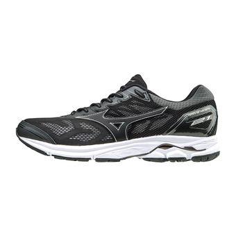 Zapatillas de running hombre WAVE RIDER 21 black/black/silver