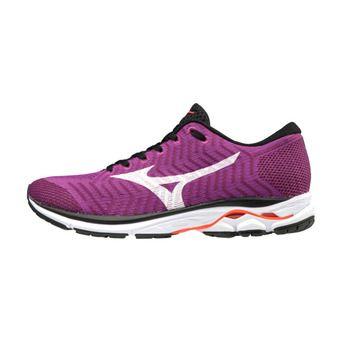 Chaussures de running femme WAVEKNIT R2 hviolet/white/fierycoral