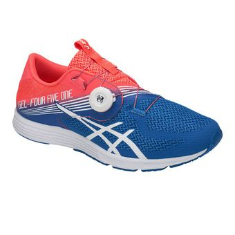 Chaussures running homme GEL-451 flash coral/white/directoire blue