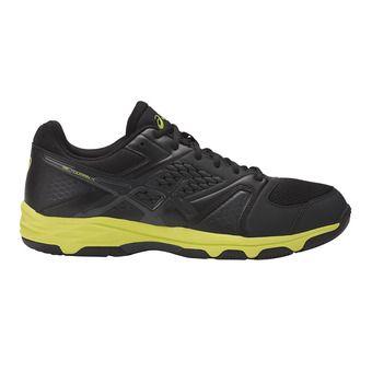 Zapatillas de balonmano hombre GEL-DOMAIN 4 black/dark grey/energy green