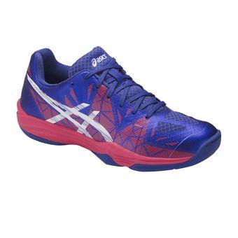 Chaussures handball femme GEL-FASTBALL 3 blue purple/white/rouge red