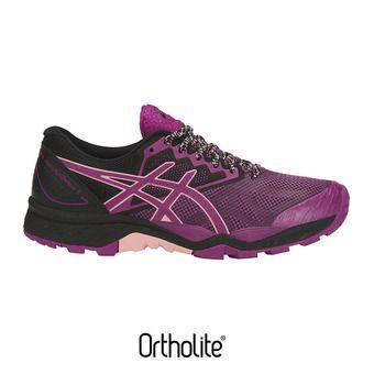 Zapatillas de trail mujer GEL-FUJITRACUBO 6 baton rouge/seashell pink/black