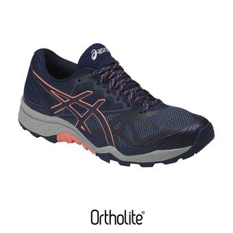 Chaussures trail femme GEL-FUJITRACUBO 6 indigo blue/begonia pink/smoke blue