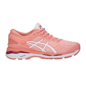 Chaussures running femme GEL-KAYANO 24 seashell pink/white/begonia pink