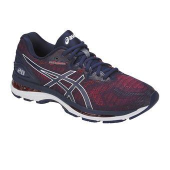 Zapatillas de running hombre GEL-NIMBUS 20 indigo blue/fiery red