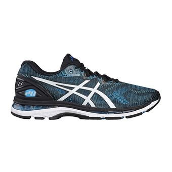 Chaussures running homme GEL-NIMBUS 20 island blue/white/black