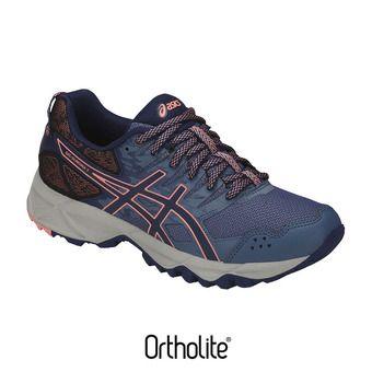 Chaussures trail femme GEL-SONOMA 3 smoke blue/indigo blue/begonia pink