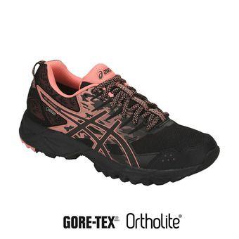 Zapatillas de trail mujer GEL-SONOMA 3 G-TX black/begonia pink