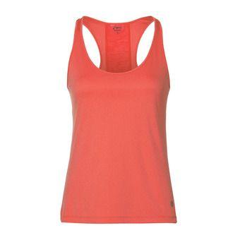 Camiseta de tirantes mujer LOOSE coralicious heather