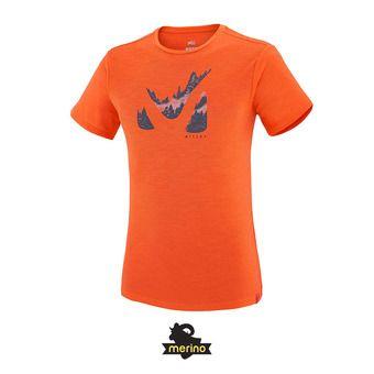 Tee-shirt MC homme AKNA WOOL orange
