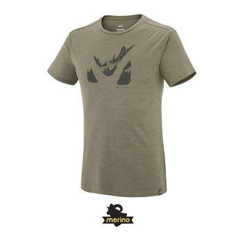Camiseta hombre AKNA WOOL grape leaf
