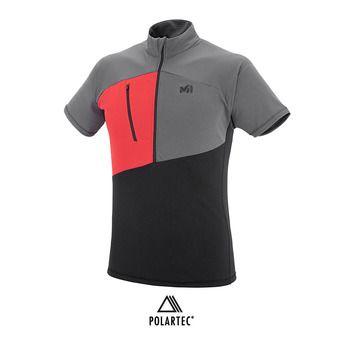 Camiseta hombre ELEVATION ZIP black/tarmac