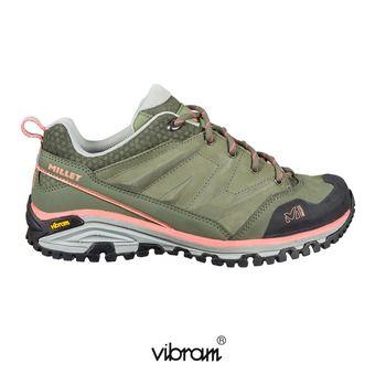 Chaussures randonnée femme HIKE UP vetiver/peach