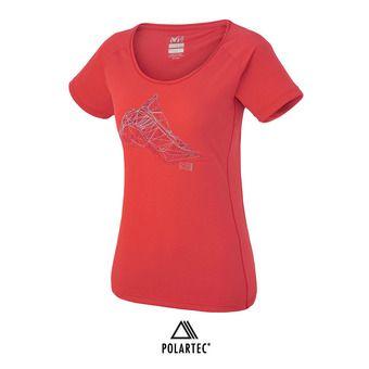 Camiseta mujer NEEDLES hibiscus