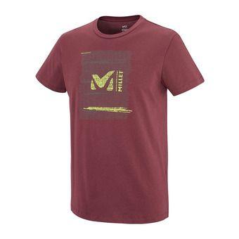 Camiseta hombre RISE UP burgundy