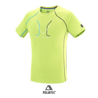 Maillot MC homme TRILOGY DELTA LIMITED acid green