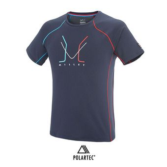 Maillot MC homme TRILOGY DELTA LIMITED saphir