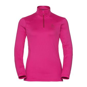 Sweat 1/2 zip femme STEEZE beetroot purple