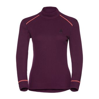 Camiseta térmica mujer WARM DROIT pickled beet