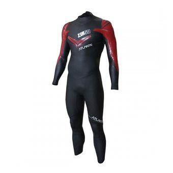 Combinaison triathlon homme ATLANTE black/red